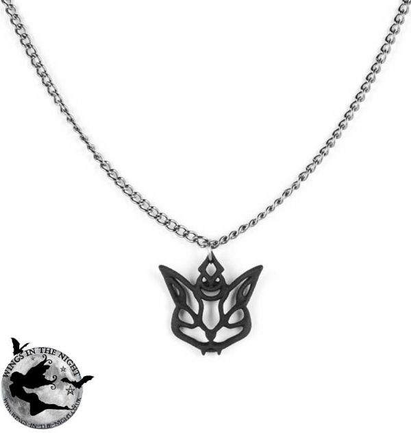 The Rogue + The Wolf Cat Familiar Gothic Necklace